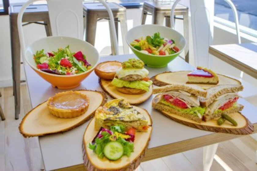 Voila serves an array of the entrees, sides, salads and desserts. (Courtesy Photos)