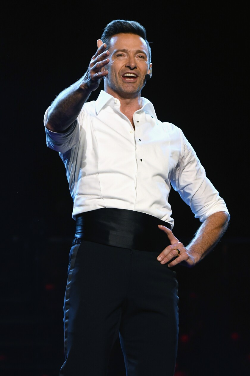 "Hugh Jackman, ""The Man. The Music. The Show."""