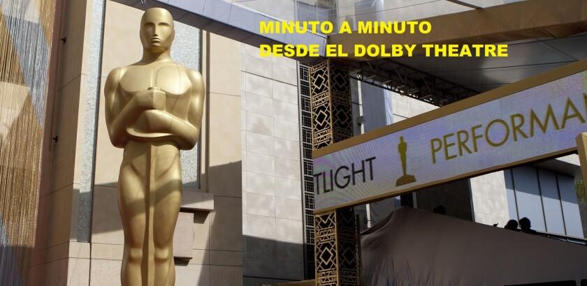 La ceremonia 58 del Oscar ya se inició, y te traemos todas las incidencias del evento en el momento en que estas se producen.