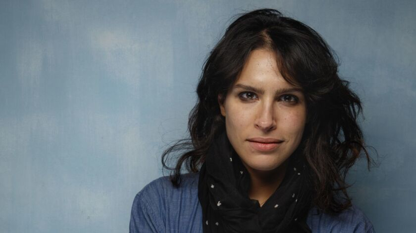 """Director Desiree Akhavan, from the film """"The Miseducation of Cameron Post,"""" photographed in the L.A. Times Studio at Chase Sapphire on Main, during the Sundance Film Festival in Park City back in January."""