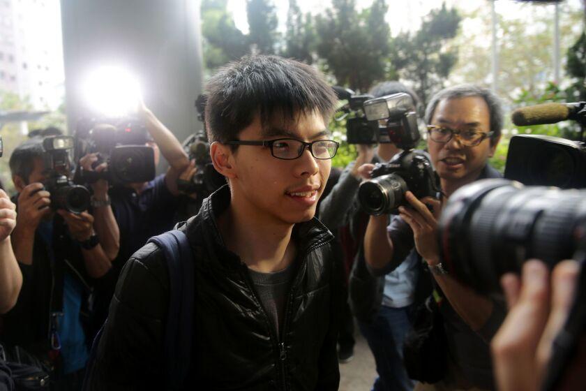 Hong Kong student activist