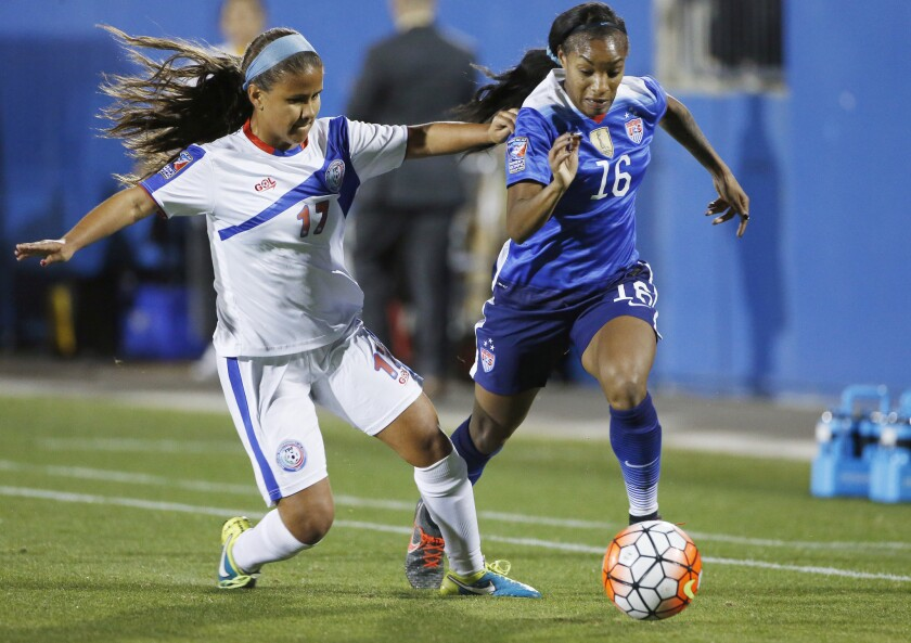 U.S., Canada on collision course at Olympic qualifying women's soccer tournament