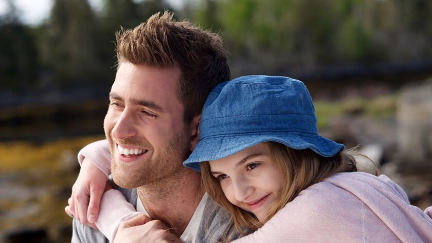 "Oliver Jackson-Cohen and Kaitlyn Bernard in the film ""The Healer."""