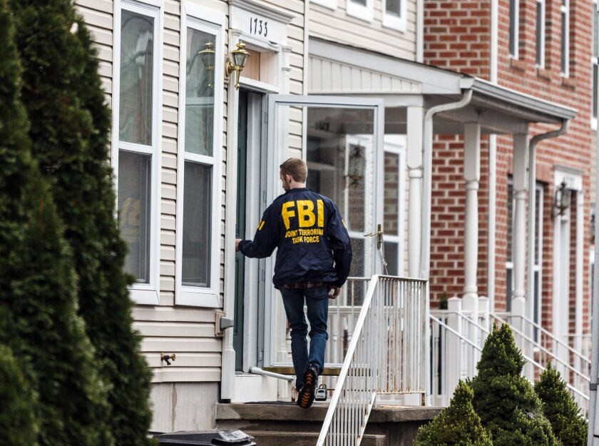 FBI raid in Harrisburg