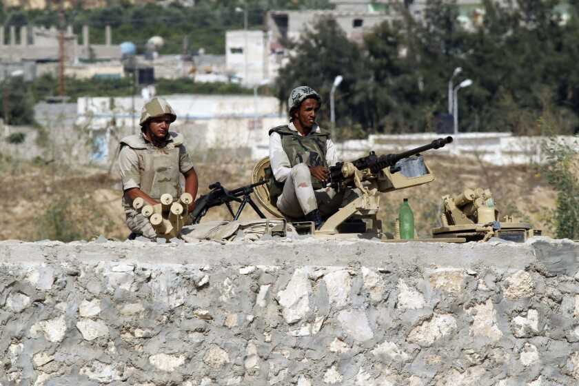 Attack on Egyptian police checkpoint leaves one officer dead