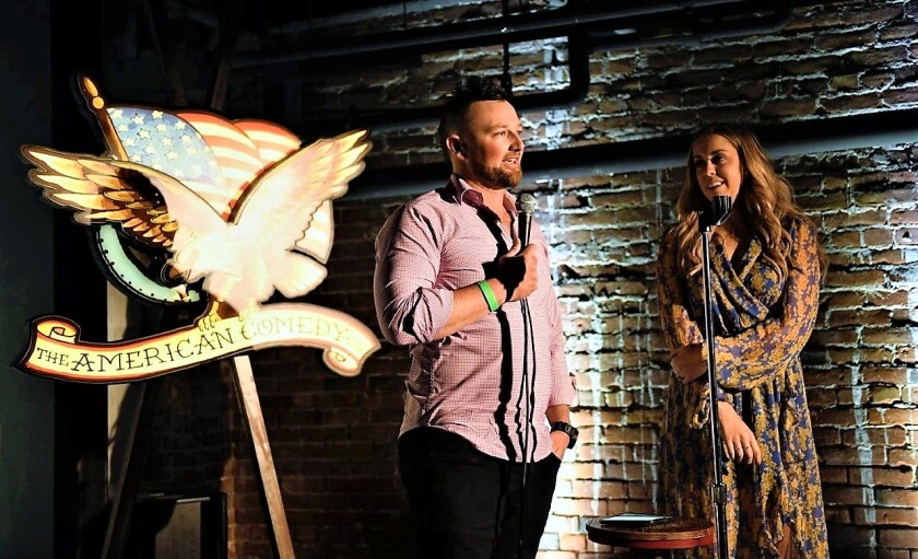 "Kirby and Ashlee Yates co-hosted ""Comedy for a Cause"" on Sept. 22 at The American Comedy Co. to benefit the Epilepsy Foundation of San Diego County."