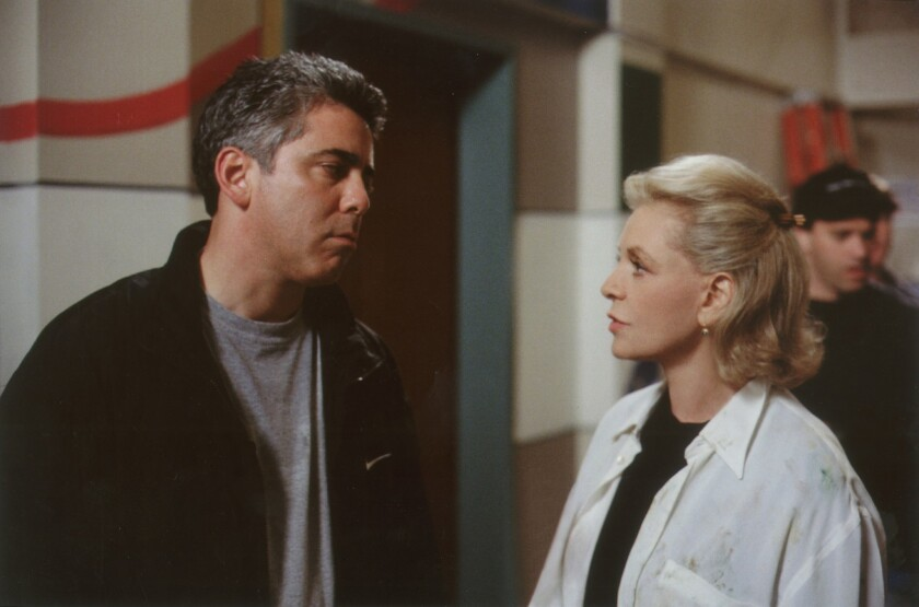 'Chicago Hope' 1998: Adam Arkin and Lauren Bacall
