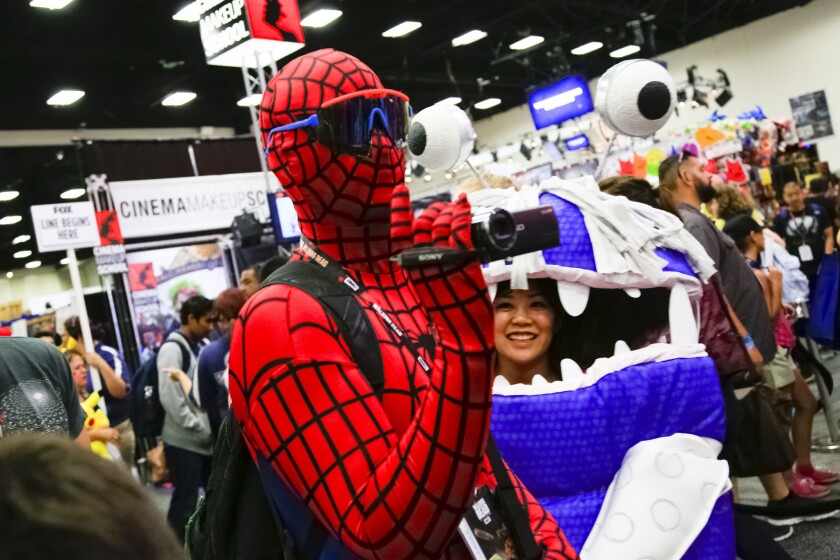 Comic-Con, which will attempt to hold a virtual event this year, received PPP funding.