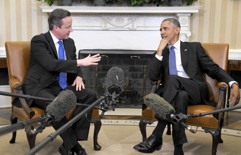 President Obama, David Cameron