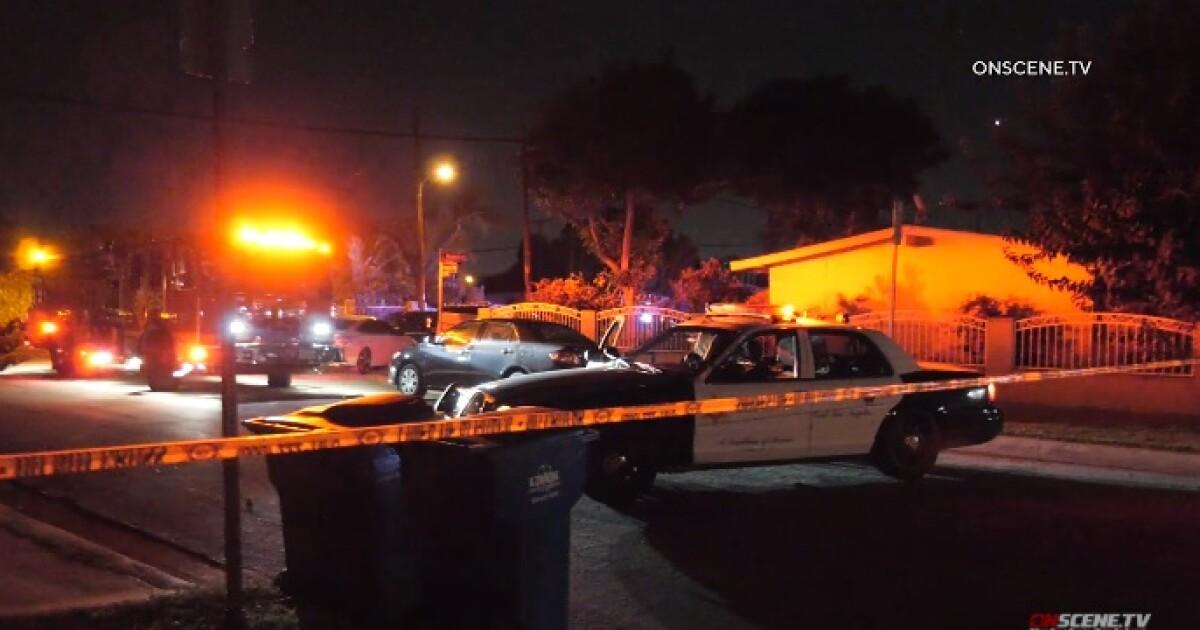 Pria bersenjatakan pisau ditembak oleh deputi menanggapi panggilan gangguan, polisi mengatakan