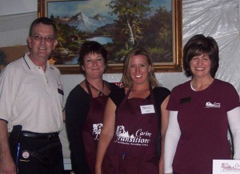 From left, Will Fuller, Peggy Hammond, Amy Magers and Susie Fuller. Photo/Diane Y. Welch