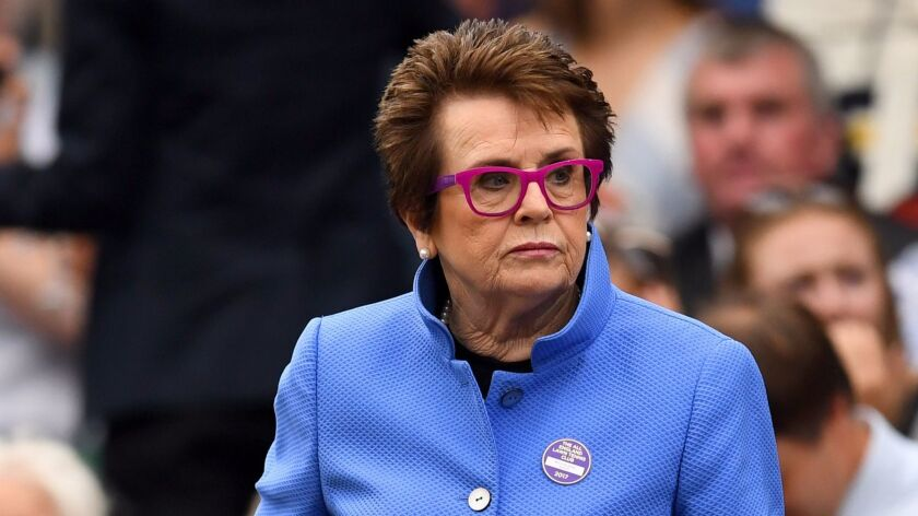 """""""I grew up in team sports,"""" says Billie Jean King, co-founder of World TeamTennis."""