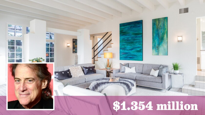 Comedian and actor Richard Lewis has sold his longtime home in Hollywood Hills West for $1.354 million.