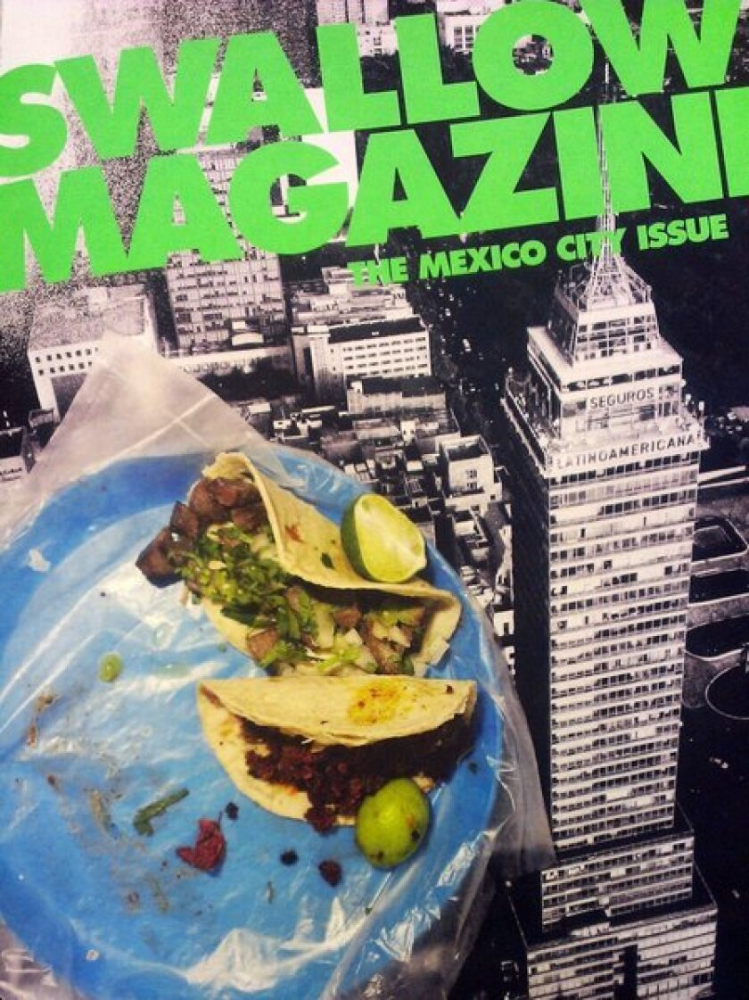 Swallow Magazine's Mexico City issue, the next best thing to going to D.F.