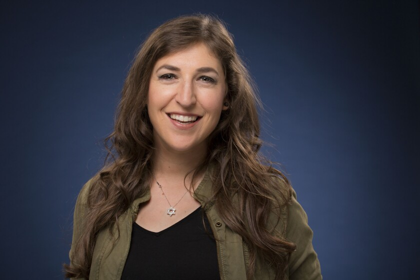 "Mayim Bialik of ""The Big Bang Theory"" studies Jewish texts weekly and believes in modesty, but also says she doesn't like ""the bureaucracy of organized religion."""