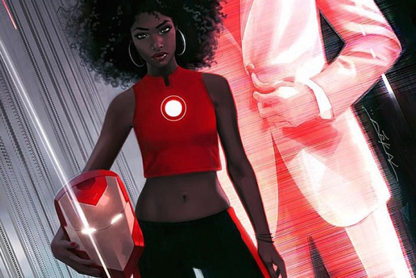 Marvel Comics ha decidido cambiar el personaje central de la historietas de Iron-Man. Tony Stark, el protanista de estos famosos cómics será reemplazado por una chica afroamericana de 15 años.