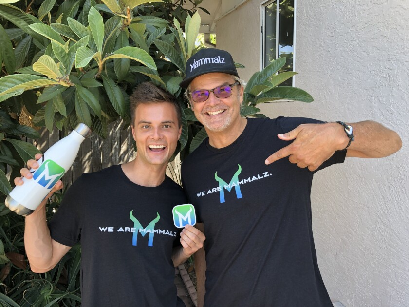 Mammalz co-founders Alexander Finden (left) and Rob Whitehair.