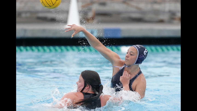 Photo Gallery: Newport Harbor vs. The Bishop's School in girls' water polo