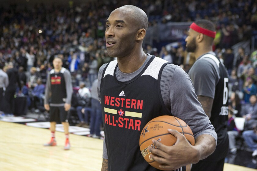 Nobody's got 'next' after Lakers' Kobe Bryant, whose final NBA All-Star game could be a love-fest