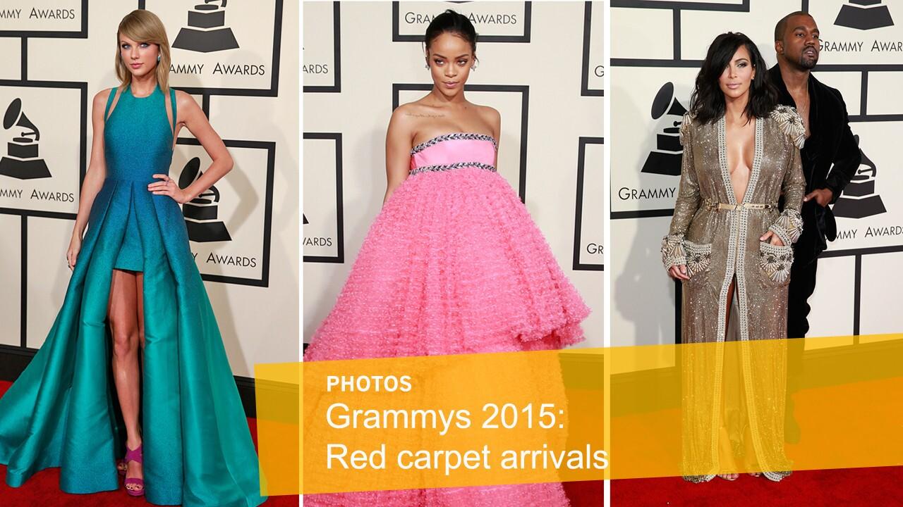 Grammys 2015: Red carpet arrivals