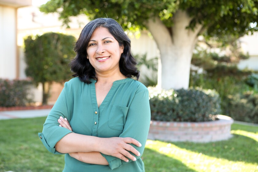 Irvine Councilwoman Farrah Khan announced her campaign for mayor on Monday.