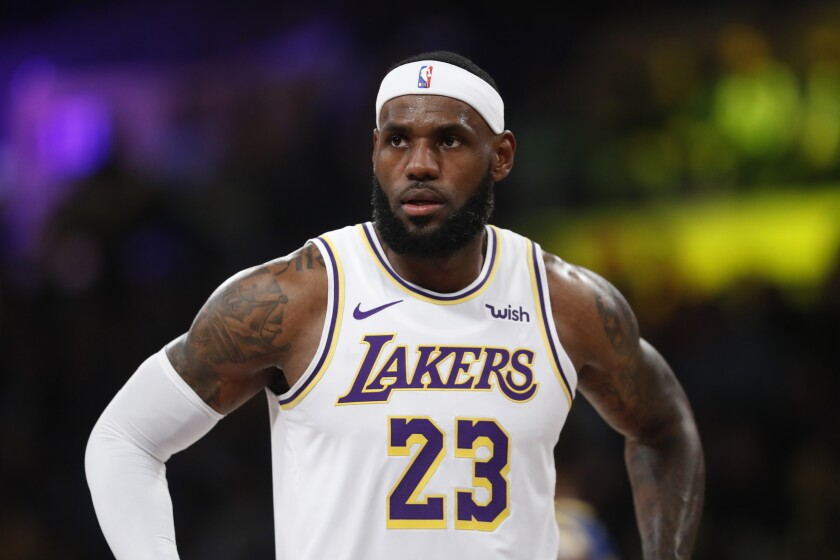 LeBron James only had a few hours of sleep Monday morning after evacuating his home in Brentwood because of the Getty fire.