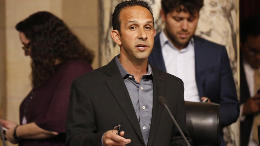 Former Los Angeles City Councilman Mitchell Englander, pictured last year, served repeatedly as chairman of a charity dinner in his district.