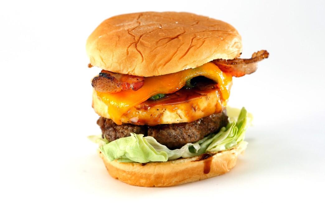 Texas luau burger