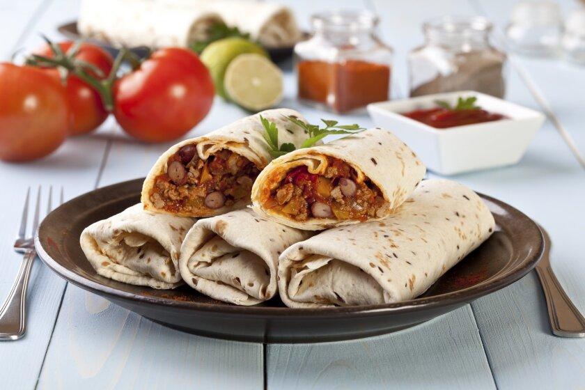 Local restaurants celebrate National Burrito Day.