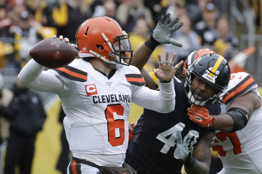 Browns Steelers Football