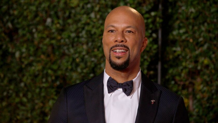 PASADENA, CA., JANUARY 15, 2018--Common is on the red carpet for the 49th annual NAACP Image Awards