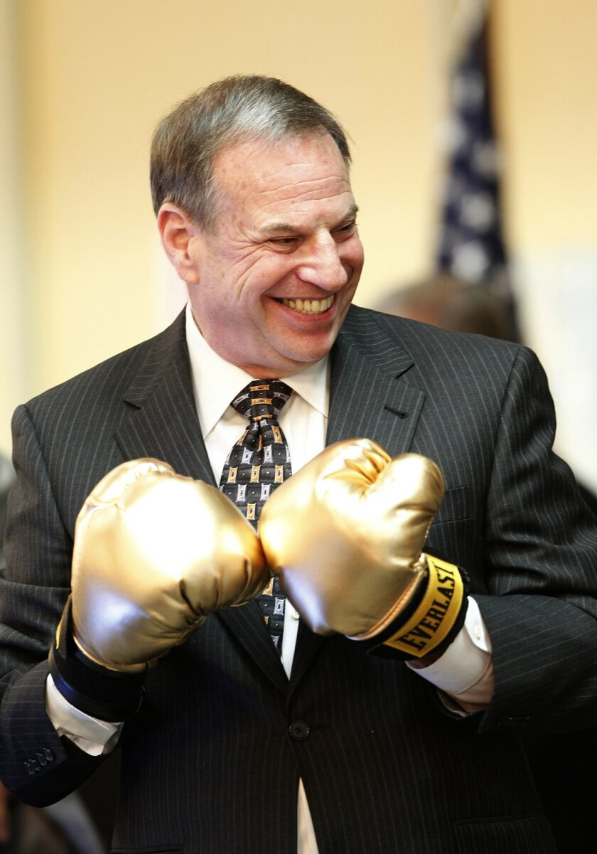 Then Congressman Bob Filner was ready for verbal sparring at the San Diego Regional Chamber of Commerce's congressional luncheon on April 9, 2010.
