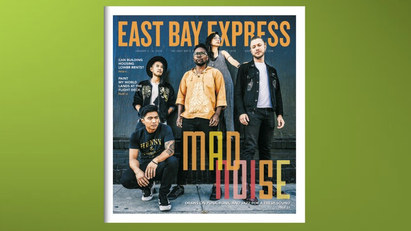 Cover of digital edition, East Bay Express Jan. 2-8, 2019 issue.