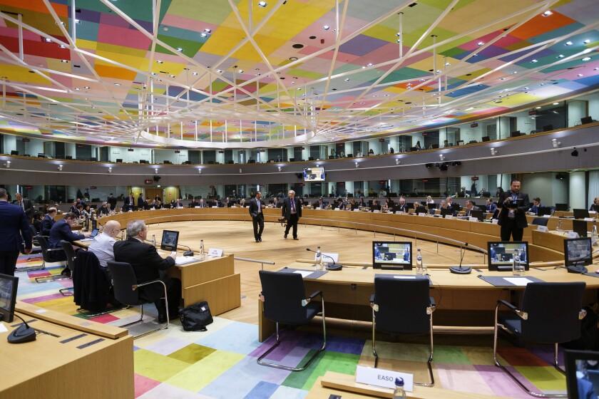EU interior ministers prepare to meet in Belgium on Friday.