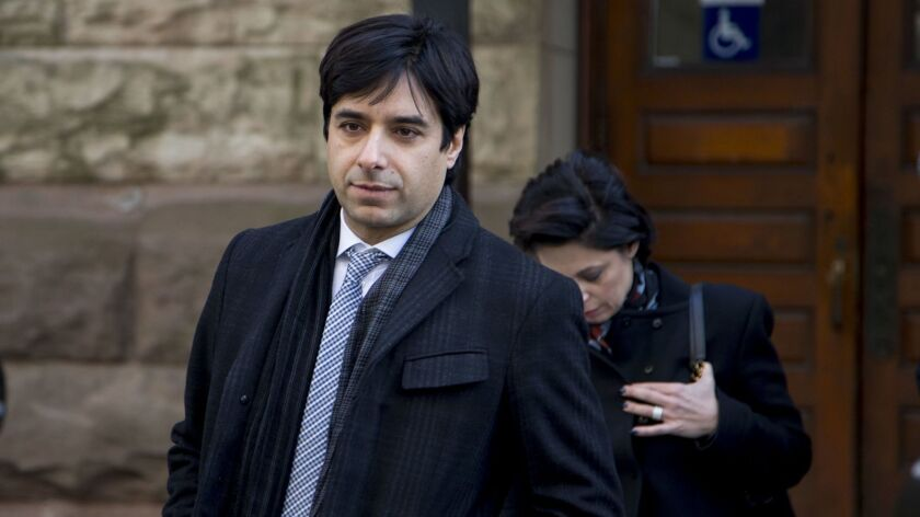 Jian Ghomeshi Leaves Courthouse After Trial