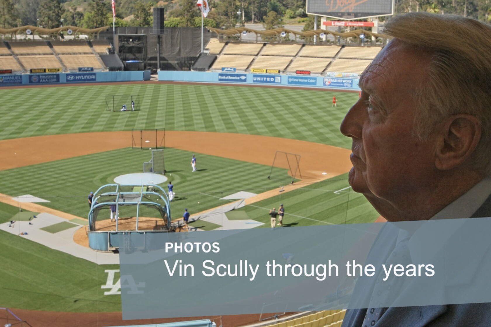 Vin Dont Go Scully Is As Eloquent As Ever In His Farewell Dodgers
