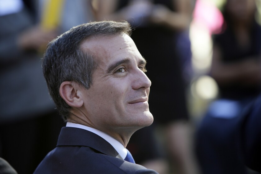 The Los Angeles City Council today approved a proposal to lower the city's business tax. The changes await Mayor Eric Garcetti's signature.