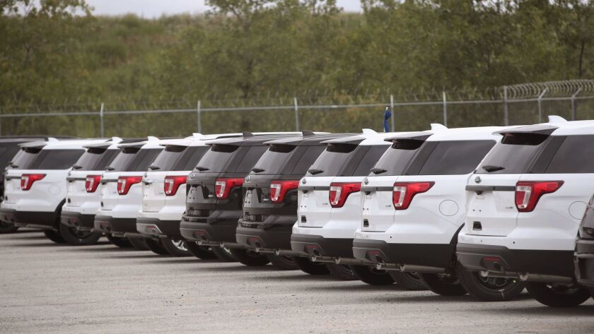Possible Ford Explorer Recall Impacts U.S. Police Departments