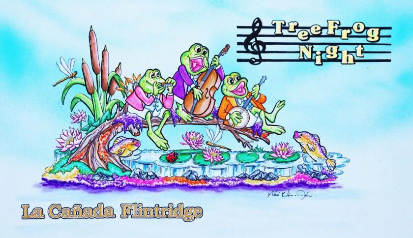 Officials with the La Cañada Flintridge Tournament of Roses Assn. recently announced their 41st floa
