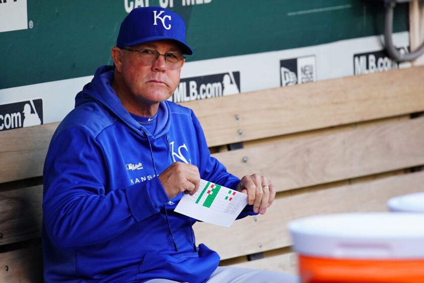Ned Yost is the only manager to lead the Kansas City Royals to consecutive World Series appearances.