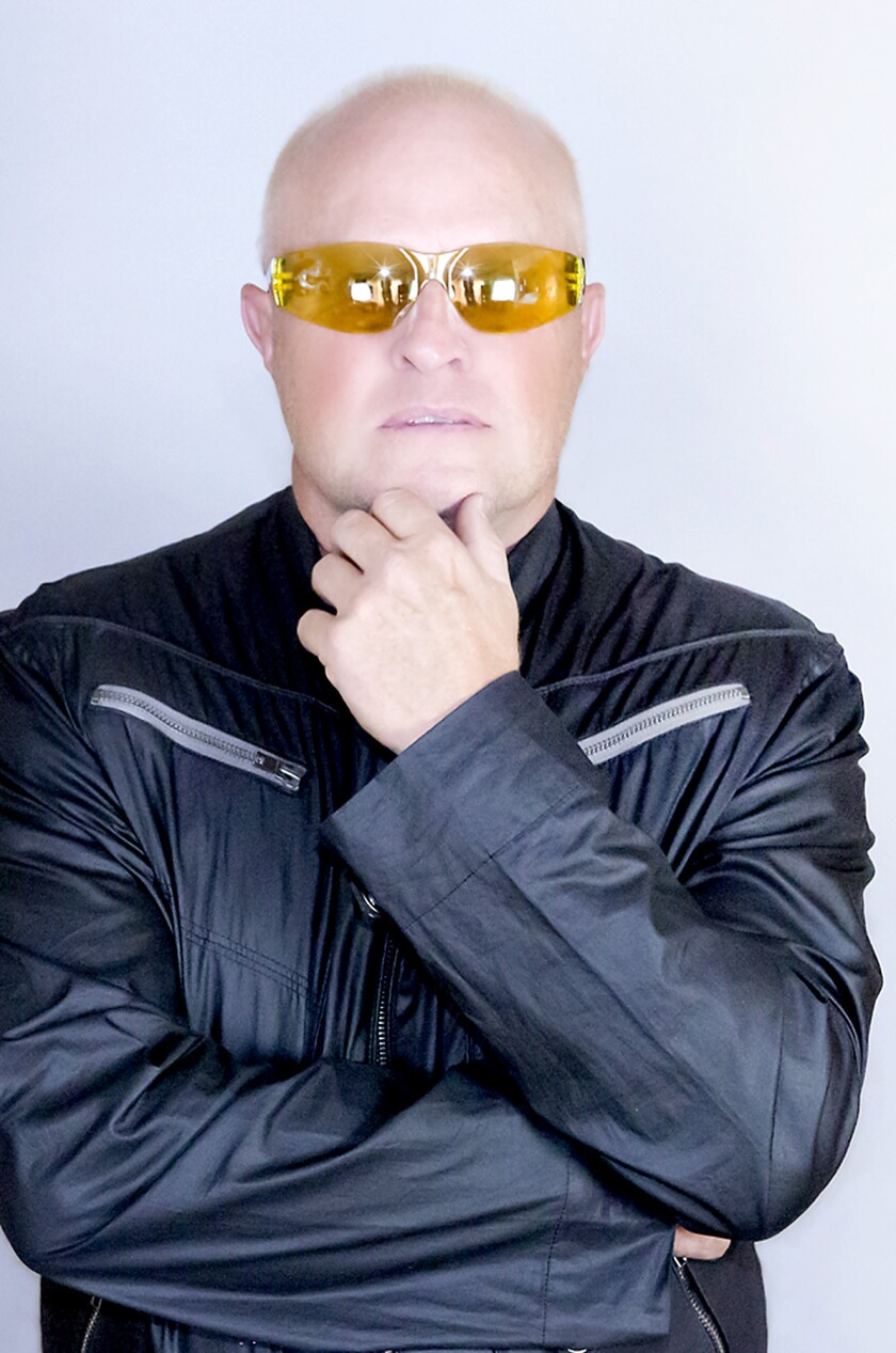 Flock of Seagulls singer/keyboardist Mike Score has a new look, but the synth pop he created in the 80s lives on. The band performs Saturday at the Starlight Bowl in Burbank.
