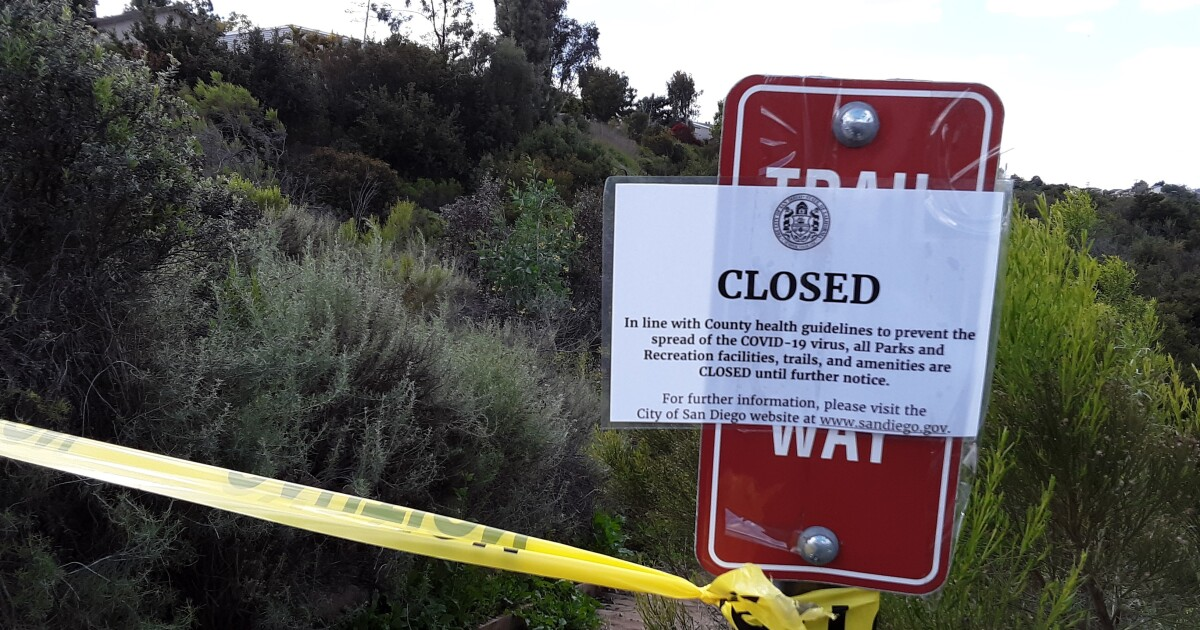 Readers React: Keeping trails empty won't help in coronavirus crisis