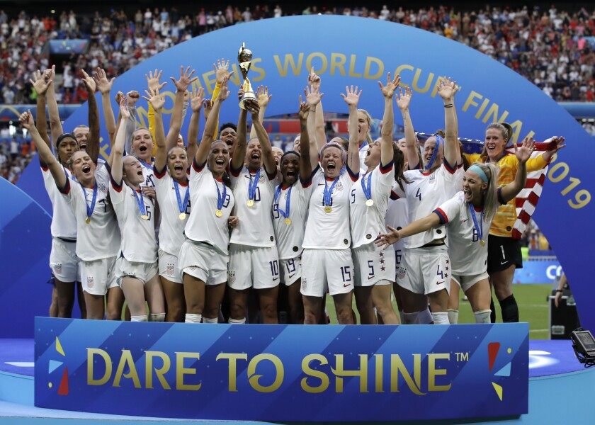 US Women-Equal Pay Soccer