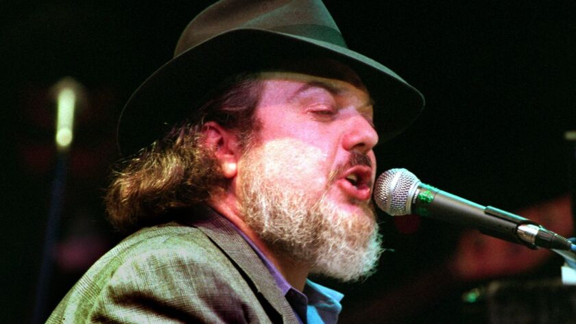 Dr. John 03/02/95 40622Ñ Singer, pianist Dr. John as he performed at the Galaxy concert Theatre, San
