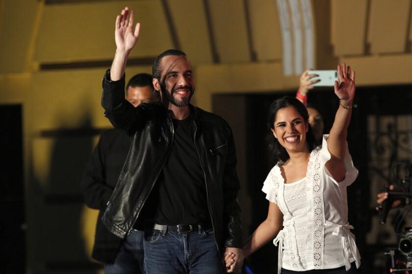 El triunfo de Nayib Bukele lo festeja la comunidad salvadoreña en Los Ángeles