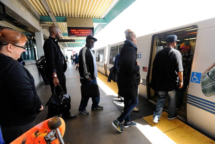 BART rumbles back to life, but commuters still feel a bit derailed