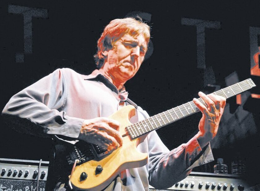 Allan Holdsworth will be at Athenaeum Jazz at the Studio tomorrow and at Brick By Brick Jan. 13.