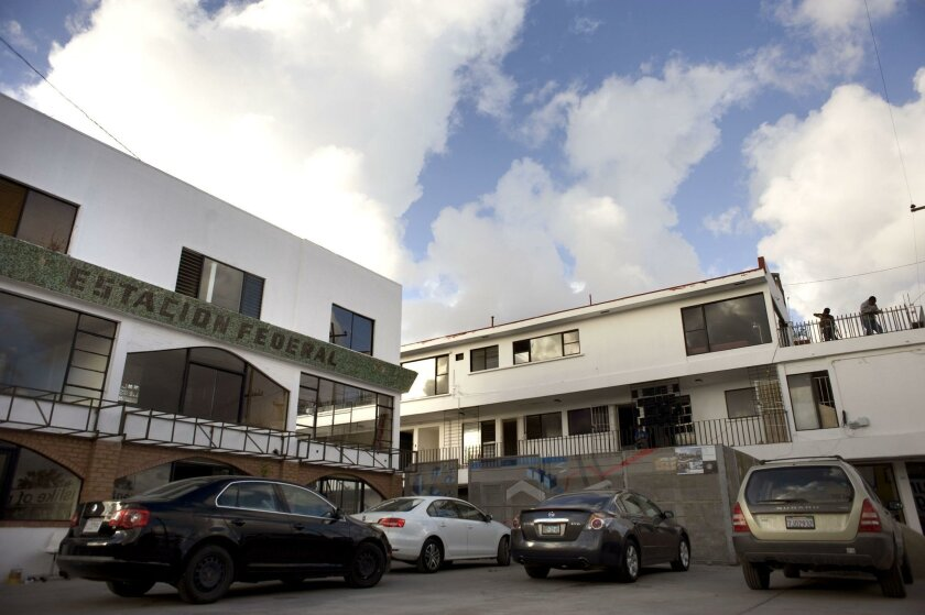 The Estacion Federal buildings in Tijuana's Colonia Federal are being renovated into apartments and commercial space.