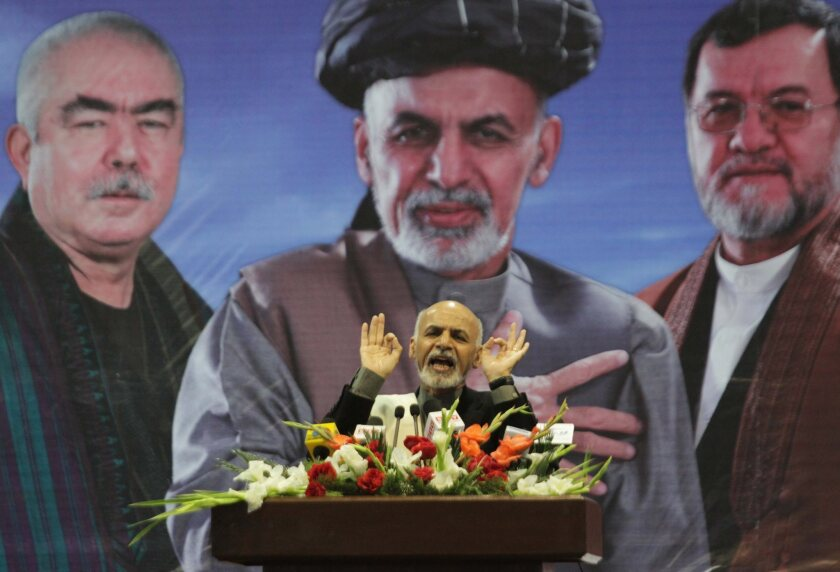 Afghan presidential election campaign
