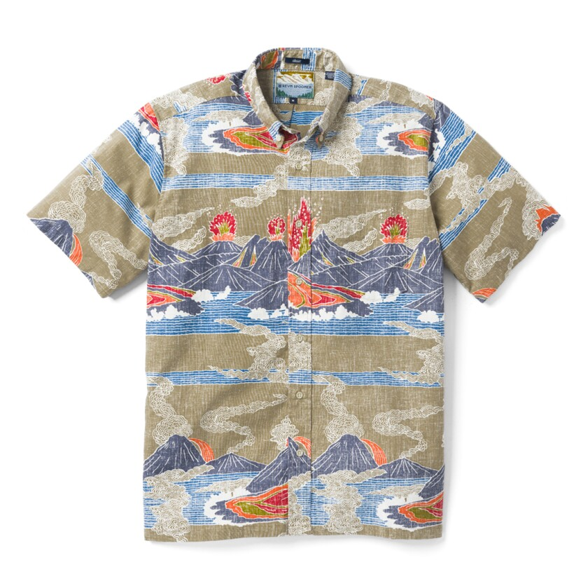 Reyn Spooner's Hawaii Volcanoes National Park shirt